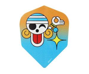 ダーツフライト【ファーイースト】ワンピース 海賊旗ナミ/オレンジ