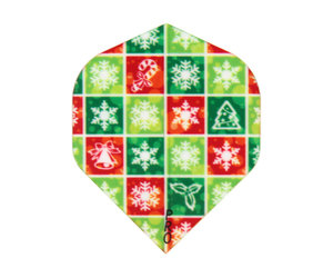 ダーツフライト【プロ】インディーズシリーズ クリスマスブロック