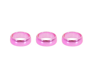 ダーツリング【カメオ】フレックスリング ライト メタル ピンク