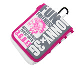 ダーツケース 【JONNY×3GGC】 Waist Bag & Darts Case ホワイト/ピンク