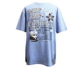 ダーツアパレル【3GGC】SURF SPIRIT(PARADICE) サックス Tシャツ