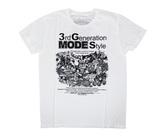ダーツアパレル【3G】 3GMS GMS-01 ホワイト Tシャツ