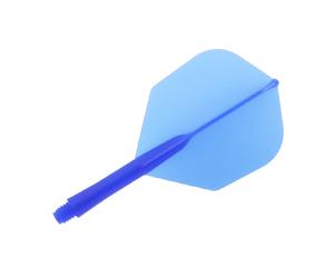 DARTS FLIGHT【 PuteraFactory 】Shaft一體型Flight Seamless Shape DeepBlue