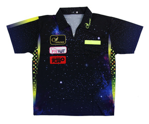 DARTS APPAREL【 COSMODARTS 】DARTS SHIRT Galaxy Type Size