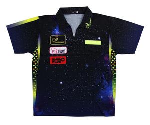 ダーツアパレル【コスモダーツ】レプリカダーツシャツ Galaxyタイプ M