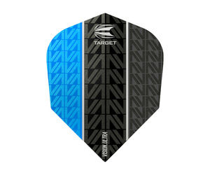 ダーツフライト【ターゲット】ヴィジョン ウルトラ シェイプ VAPOR8 BLACK ブルー 332480