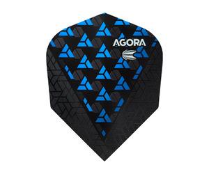 ダーツフライト【ターゲット】ヴィジョン ウルトラ ゴースト シェイプ AGORA ブルー 332600