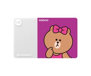 ダーツゲームカード【フェニックス】フェニカ LINE FRIENDS チョコ