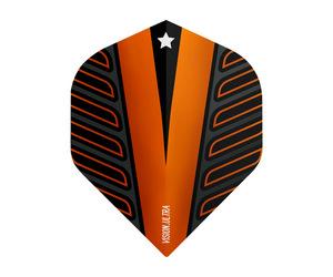 ダーツフライト【ターゲット】ヴィジョン ウルトラ スタンダード VOLTAGE オレンジ 333350