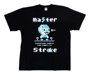 アパレル【マスターストローク】Tシャツ 鈴木未来 ミクル ver.2 ブラック M