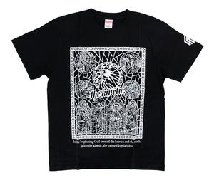 アパレル【マスターストローク】Tシャツ 松本康寿 グリコ ver.1 ブラック S