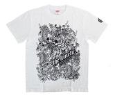 アパレル【マスターストローク】Tシャツ 松本康寿 グリコ ver.2 ホワイト