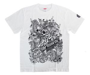 アパレル【マスターストローク】Tシャツ 松本康寿 グリコ ver.2 ホワイト S
