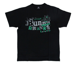 DARTS APPAREL【SHADE】Bunny PRANKS T-shirts 佐々木沙綾香 Model black&green