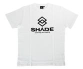 アパレル【シェード】SHADEロゴ Tシャツ ホワイト