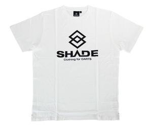 アパレル【シェード】SHADEロゴ Tシャツ ホワイト L