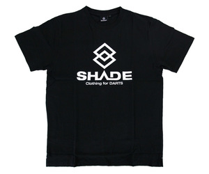 DARTS APPAREL【 SHADE 】LOGO T-shirts black