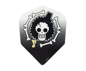 ダーツフライト【ファーイースト】ワンピース 海賊旗ブルック/ブラック