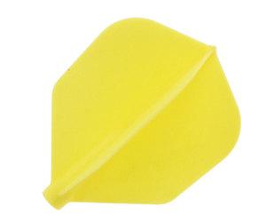 DARTS FLIGHT【 Fit Flight 】Shape Yellow