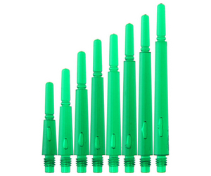 DARTS SHAFT【 Fit 】Gear Shaft Normal Spin ClearGreen