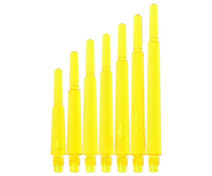 DARTS SHAFT【 Fit 】Gear Shaft Normal Spin ClearYellow