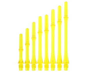 DARTS SHAFT【Fit】Gear Shaft Slim Spin ClearYellow
